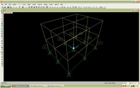 RANGKA PORTAL 3D case
